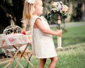 Wedding Tea party Garden Party Pinafore dress and bloomers set, Pick your color fabric, This is not yet made
