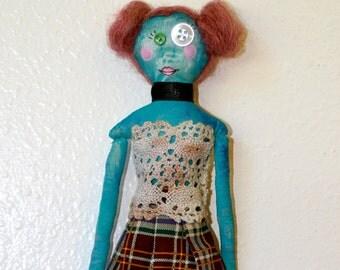 Little School Girl Doll