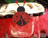 Ladybug Highchair Tutu