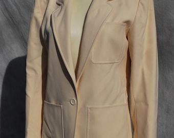 Vintage Yves Saint Laurent jacket blazer 70's jacket s42 mint classic by thekaliman