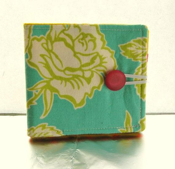 Wallpaper Roses Fabric Wallet