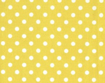 Michael Miller Citron Dumb Dot Fabric 1 YD (More Available)