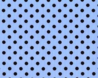 Michael Miller Boy Blue Dumb Dots 1 YD (More Available) Shipping 2.50-1yd