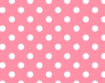 Michael Miller Pink Dot To Dots Fabric 1 Yard (More Available)