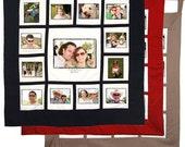 The Original Wedding Signature Wall Hanging Photo Quilt - 13 Photos