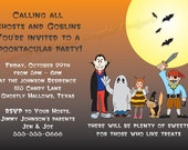 Halloween Party Invite for Kids