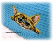Travel-Cosmetic Bag-Sophisticated Kitty