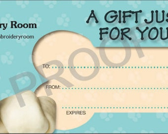 The Embroidery Room Gift Certificate