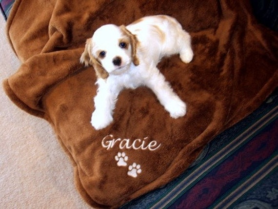 Personalized Pet Blanket Etsy