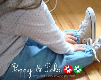 instant download - Let's Go Walking Pants PDF Sewing Email Pattern