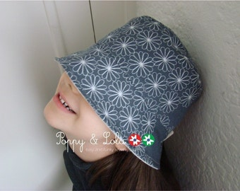 instant download - Summer Days Reversible Hat PDF Sewing Email Pattern