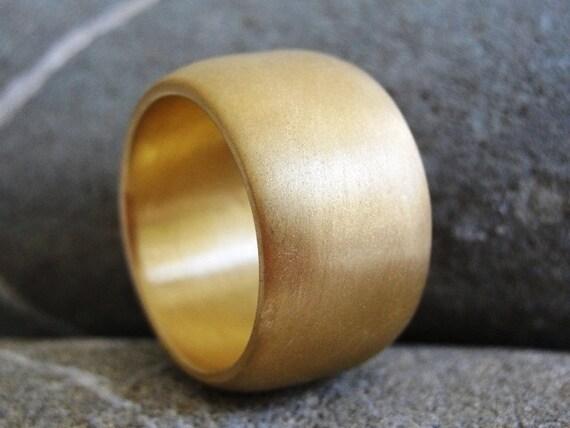 Ring - Golden Chunky Ring