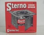 Vintage Sterno Folding Cook Stove