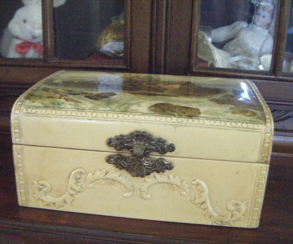 Antique Celluloid Box