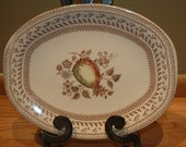 Price Reduced Johnson Brothers Platter - Fruit