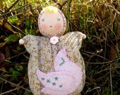 The Waldorf Doll Marinka with Turtle-dove
