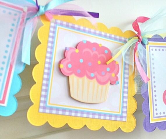 Cupcake Cutie, Age Banner