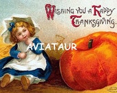 Victorian Thanksgiving Image 03 digital download