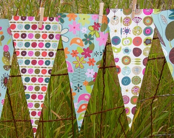 Personalized Name Sign -Custom Name Banner - Party Decoration Bunting Garland Pennant