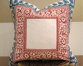 Teal and Spice Bohemian Pillow