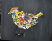 birdie babe. 8 x 10 original.