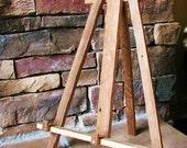 Tabletop Barn Wood Easel