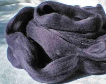 "Ashland Bay Solid Colored Merino for Spinning or Felting ""Plum""  4 oz."