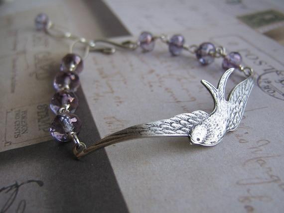 Bird in Flight Bracelet