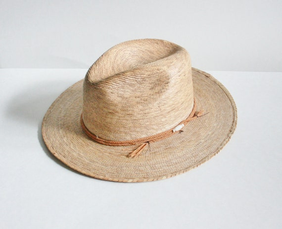 Vintage SAHUAYO Woven Hat - Country Western