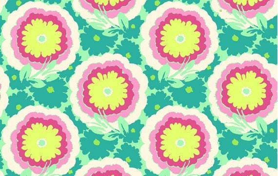 Amy Butler-Soul Blossoms-Buttercups-Spearmint