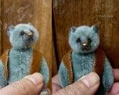 Miniature Artist Bear ' Portly Gem'  Aerlinn Bears