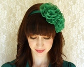 Miss Margaret - Double Flower Headband