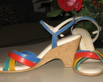 Vintage Strappy Natuarlizer Sandal