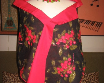 1950s BEAUTIFUL Original Two Sided Wrap Shawl