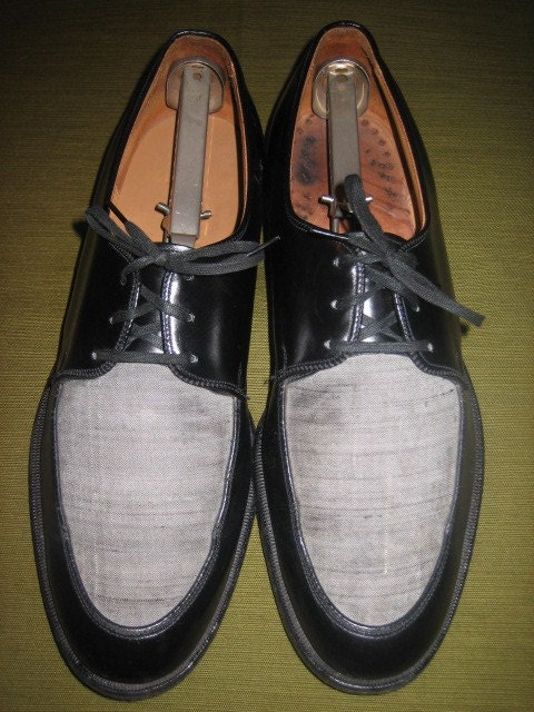 reserved for dave mens original 1950s two tone shoes fathers