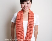 Coral Cowl Infinity Scarf
