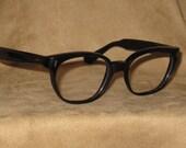 70s 80s Wayfarer Style Eyeglass Frames