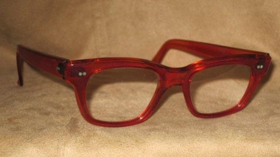Vintage Eyeglasses Clark Kent Mad Men Style
