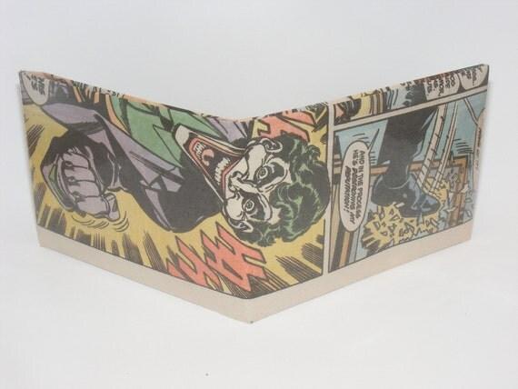 Comic Book Wallet// Joker