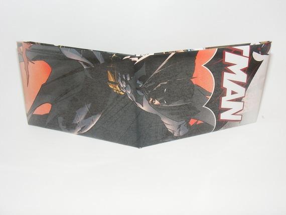Comic Book Wallet// Batman
