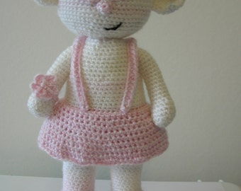 Bianca the bear - PDF crochet pattern