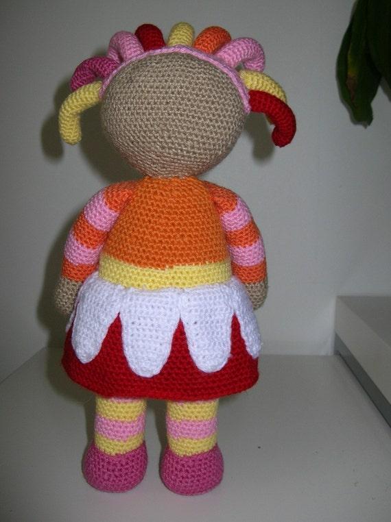 Upsy Daisy Knitting Pattern : Upsy Daisy - PDF crochet pattern from Fjukten on Etsy Studio