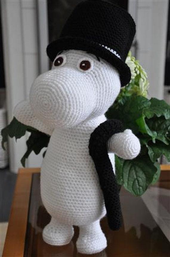 Moomin - PDF crochet pattern