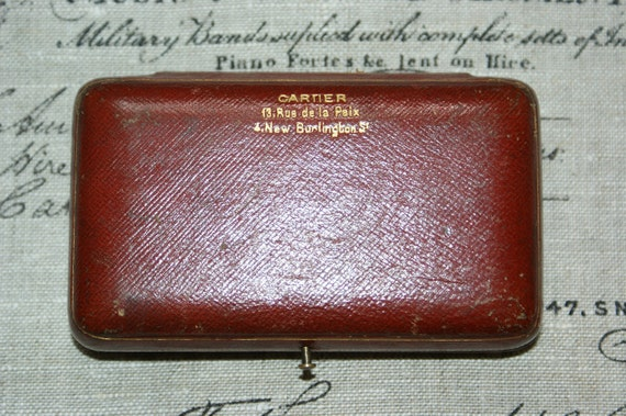 Fantastic Vintage French Cartier Jewellry Box