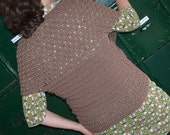 Crochet pattern : shawl-wrap vest in 3 sizes