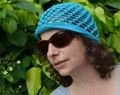 Crochet pattern : lace hat and beret