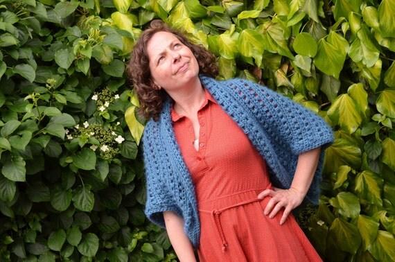 Crochet pattern : comfy vest