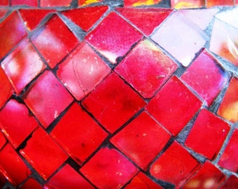 Red Glass...Archival Matted Photograph