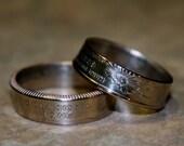 2008 Oklahoma State Quarter ring Jewelry size 5 to 12 Handmade