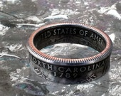 2001  North Carolina State Quarter Ring size 5 to 12 jewelry by Custom Coin Rings